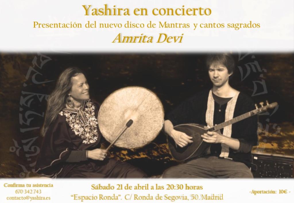Yashira en concierto - Mantras y cantos sagrados