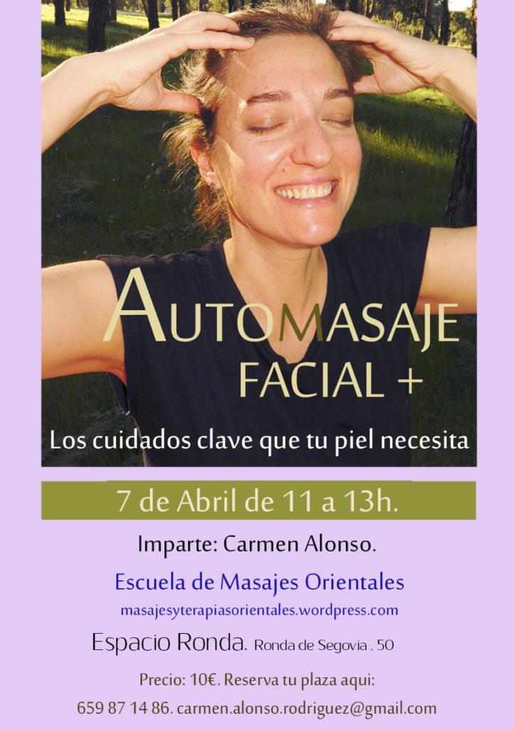 Taller Automasaje Facial + Los cuidados clave que tu piel necesita