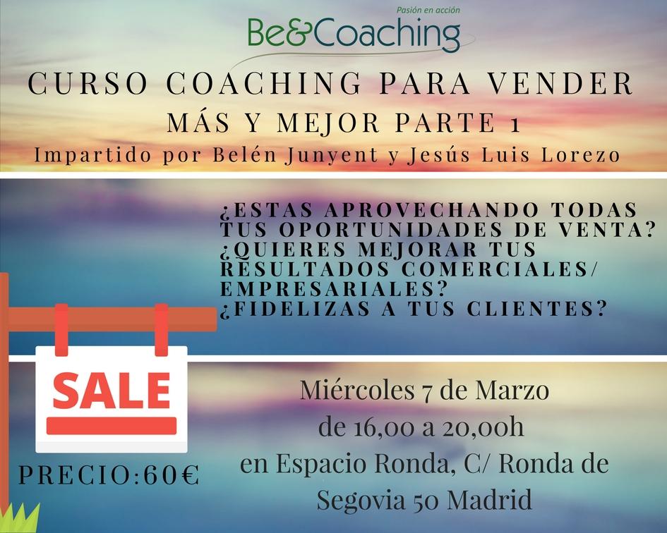 Curso coaching para vender más y mejor - Parte 1