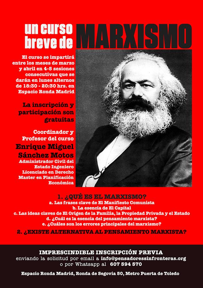 """Curso """"¿Qué es el Marxismo?"""" Cuarta Sesión"""