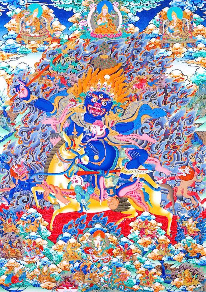 Puja de Palden Lhamo Jangchup Rimpoche