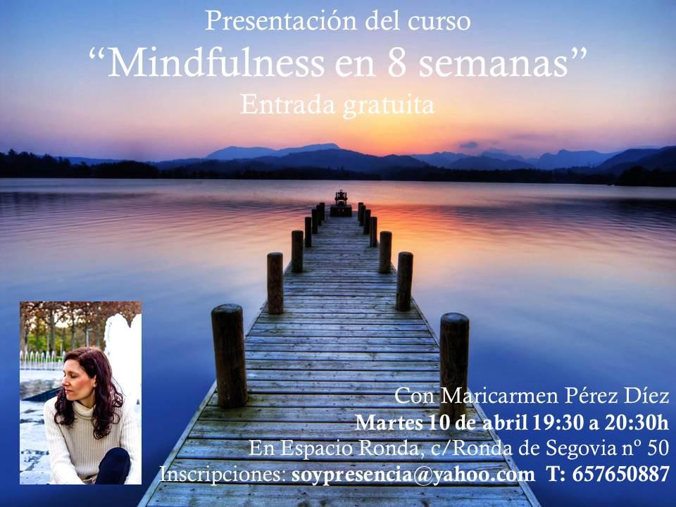 """[cancelado] Presentación del curso """"Mindfulness en 8 semanas"""""""