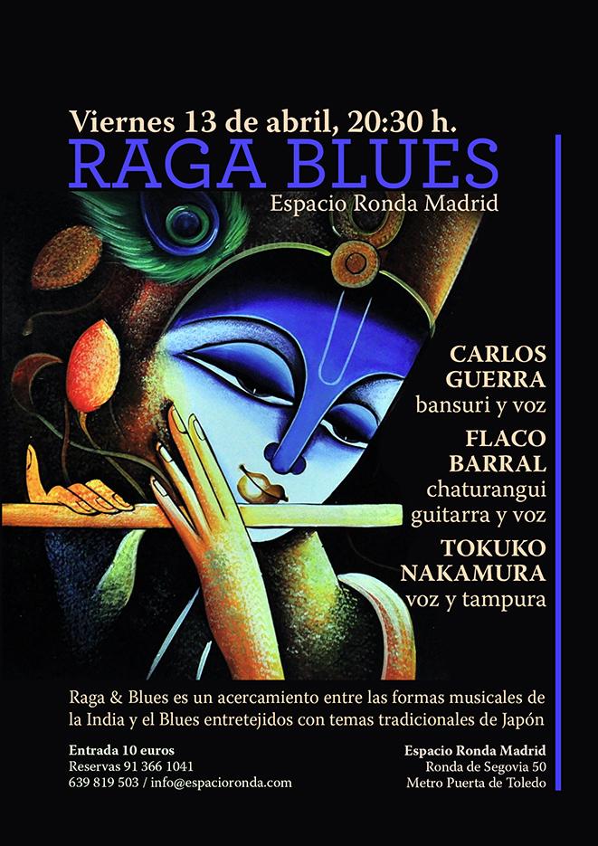 """""""RAGA & BLUES"""" Música india y blues con temas tradicionales de Japón"""