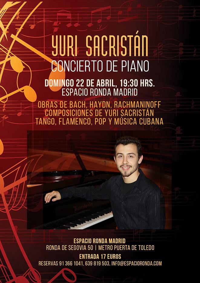 Concierto de Piano con Yuri Sacristán