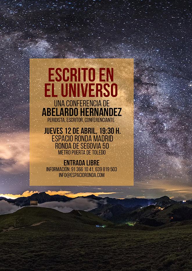 """""""Escrito en el Universo"""" con Abelardo hernández"""