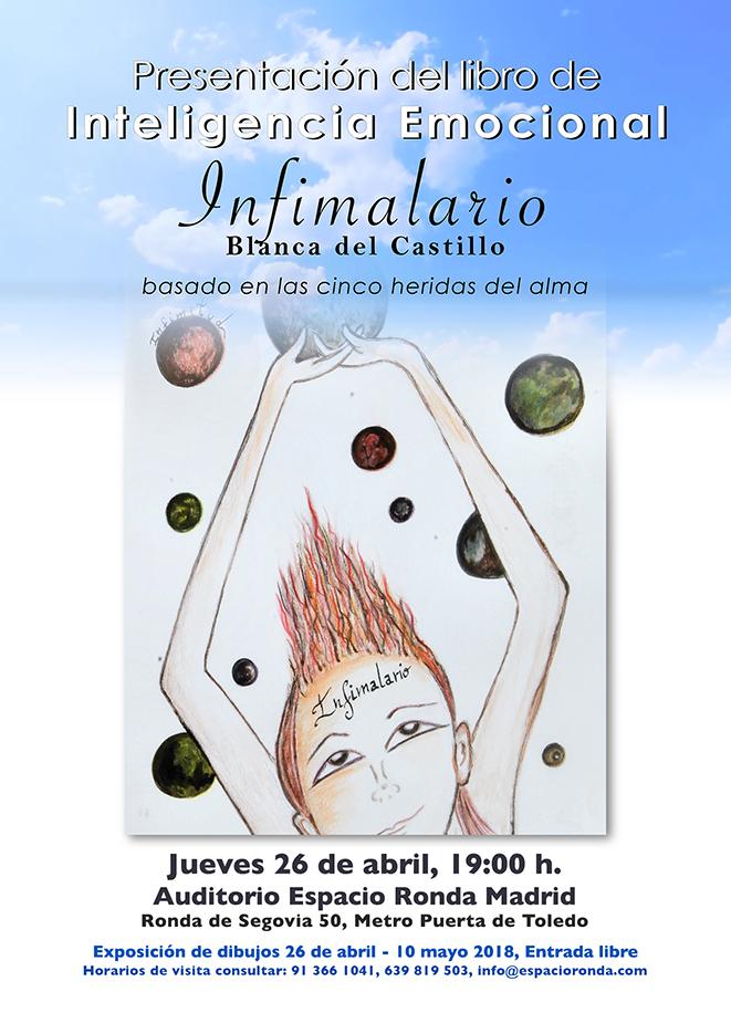 """Presentación del libro de inteligencia Emocional: """"Infimalario"""" de Blanca del Castillo"""
