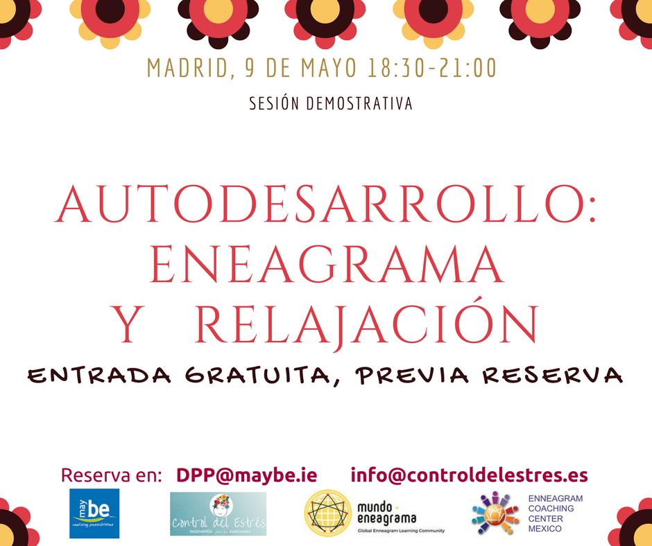 """Sesión demostrativa """"Autodesarrollo: Eneagrama y relajación"""""""