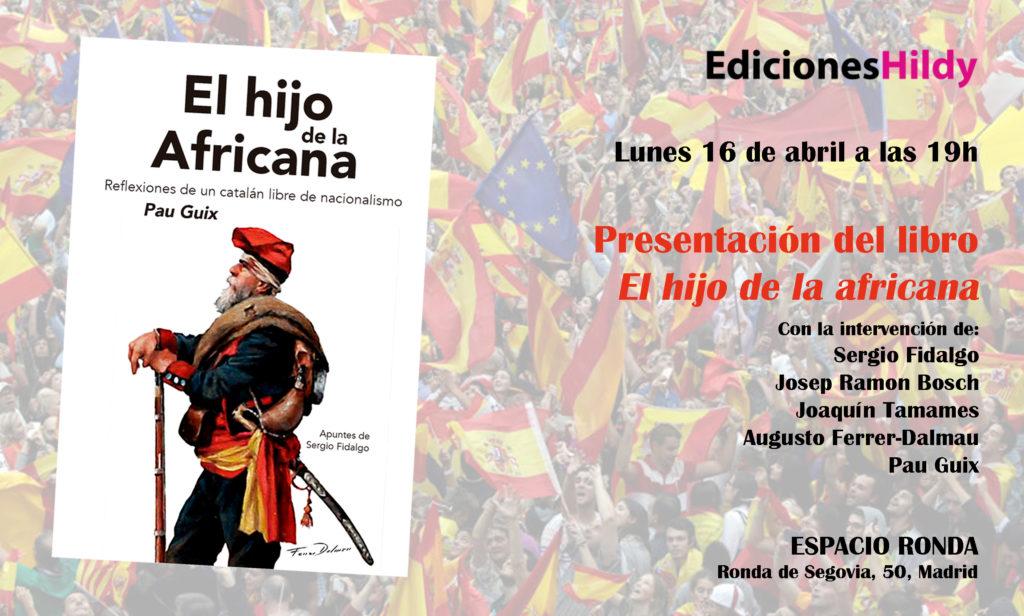 """Presentación del libro """"El hijo de la africana"""""""