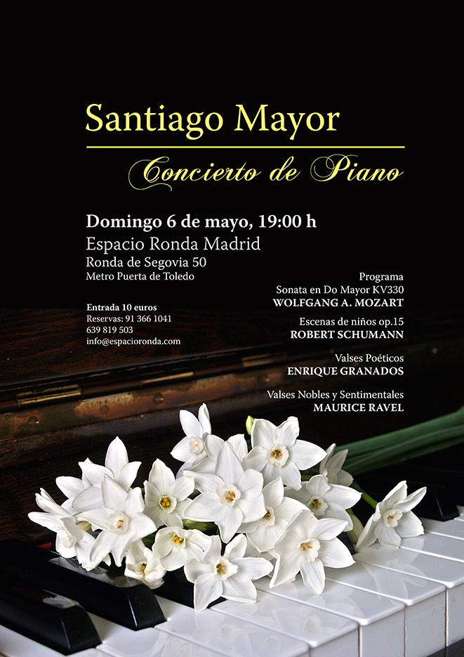 Santiago Mayor - Concierto de piano