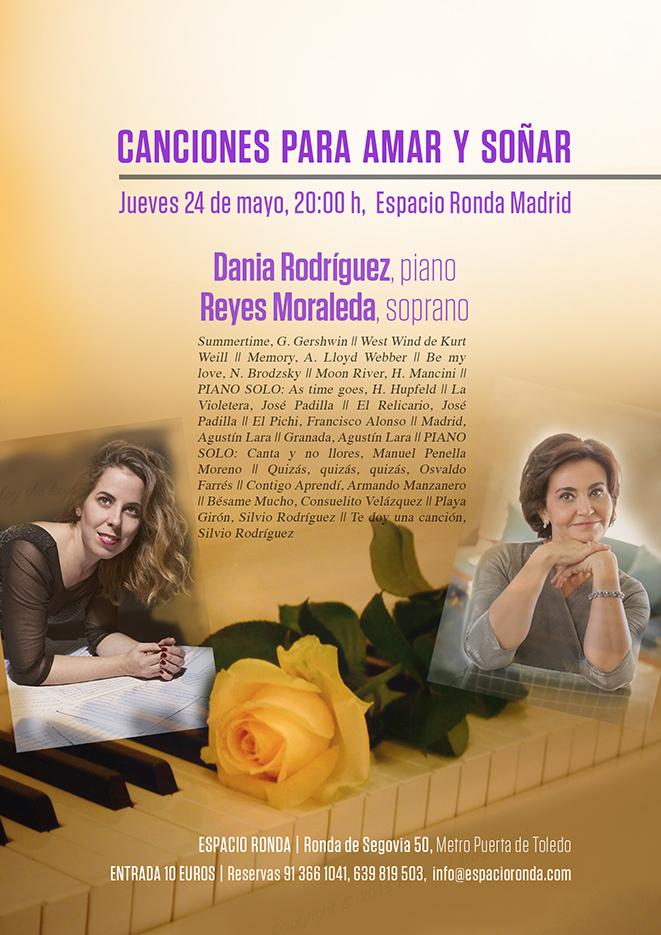 Canciones para Amar y Soñar con Reyes Moraleda y Dania Rodríguez