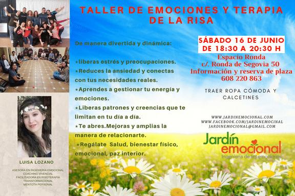 Taller de Emociones y Terapia de la Risa