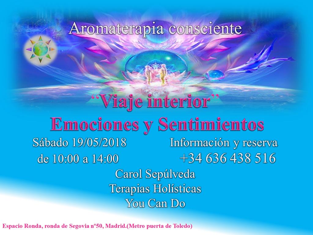 """Viaje Interior"" Aromaterapia Consciente"