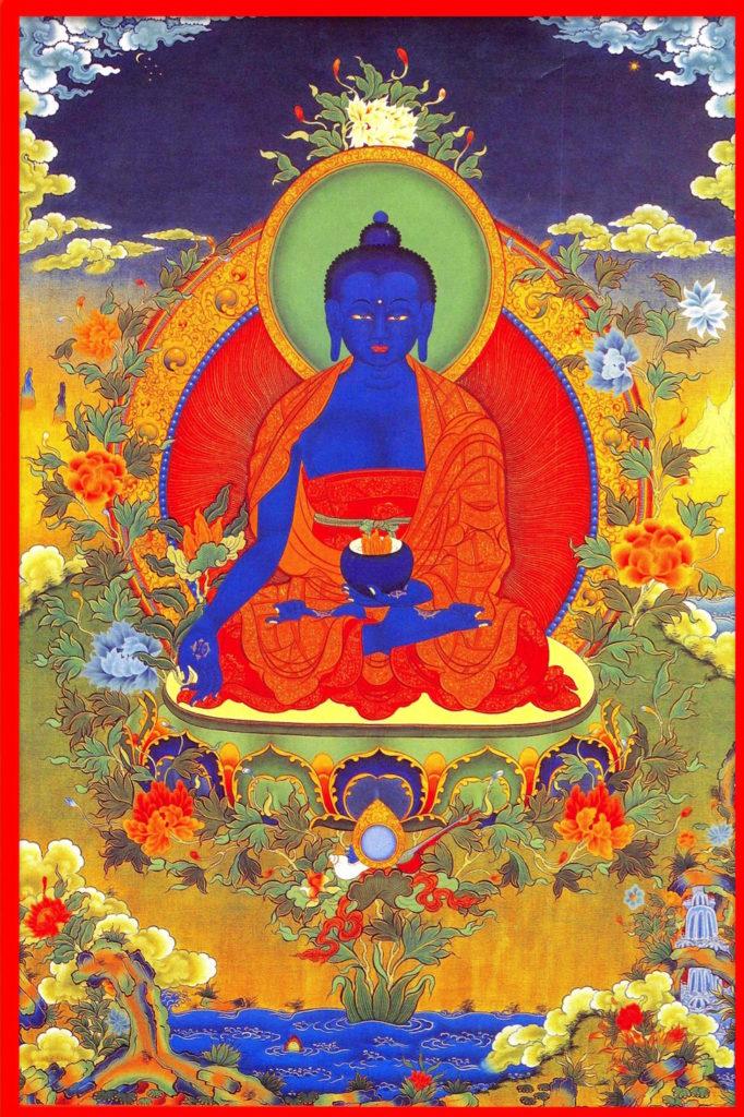 Puja del Buda de la Medicina, para la salud y la sanación Jangchup Rimpoché, Geshe Lharampa Lobsang Tendar, Lama Jampa