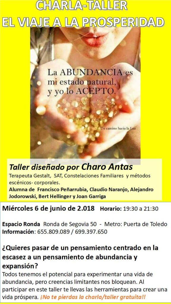 """Charla-Taller """"El viaje a la prosperidad"""""""