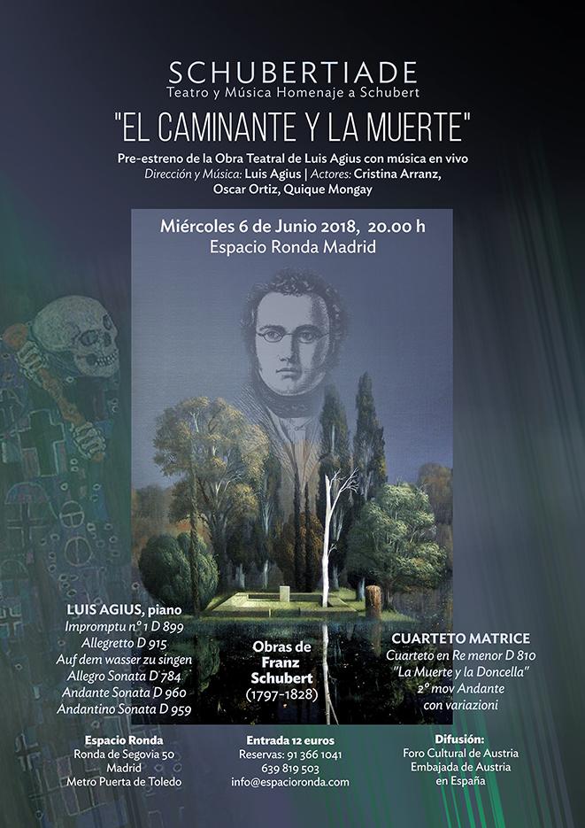 """SCHUBERTIADE"" (Teatro y Música Homenaje a Schubert)"