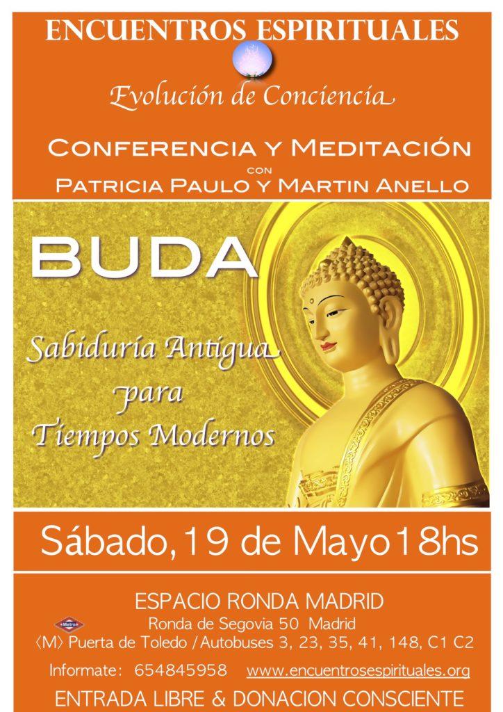 """Conferencia y meditación """"BUDA - Sabiduría Antigua para Tiempos Modernos"""""""