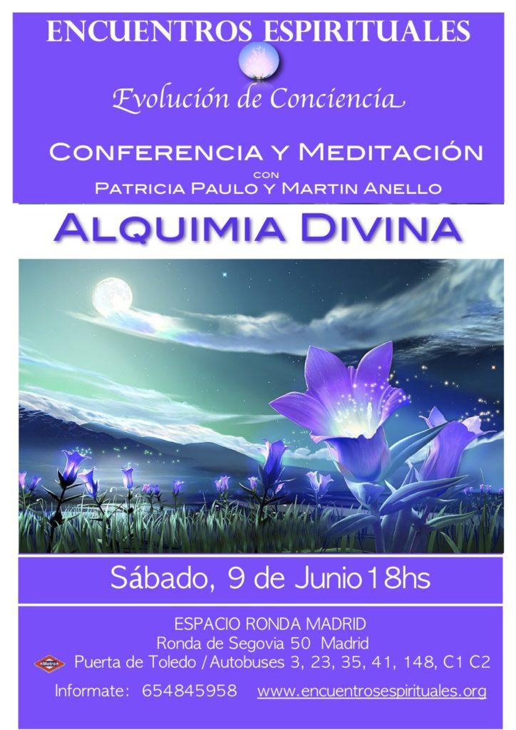 Conferencia y Meditación con Patricia Paulo y Martin Anello