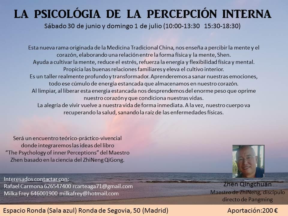 La Psicología de la Percepción Interna
