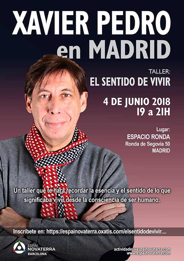 """Taller de Xavier Pedro Gallego """"El Sentido de Vivir"""""""