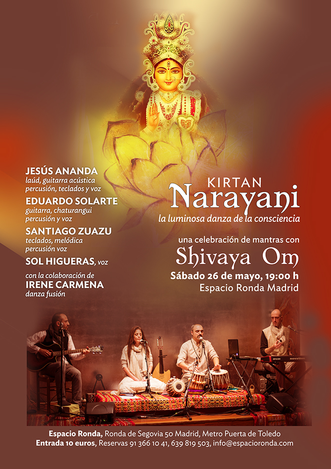 """""""Narayani"""" la luminosa danza de la Consciencia - Un kirtan con Shivaya Om"""