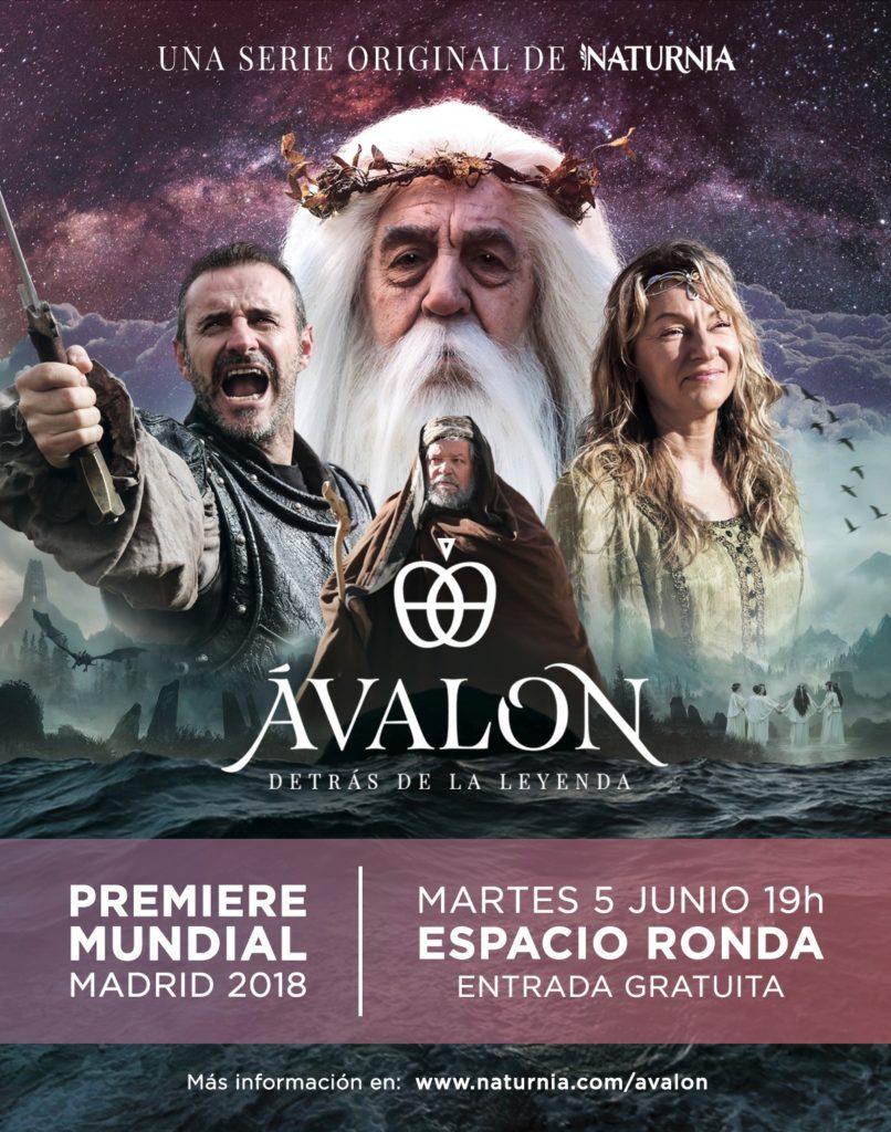 "Naturnia presenta ""Ávalon. Detrás de la leyenda"" su nueva serie documental"