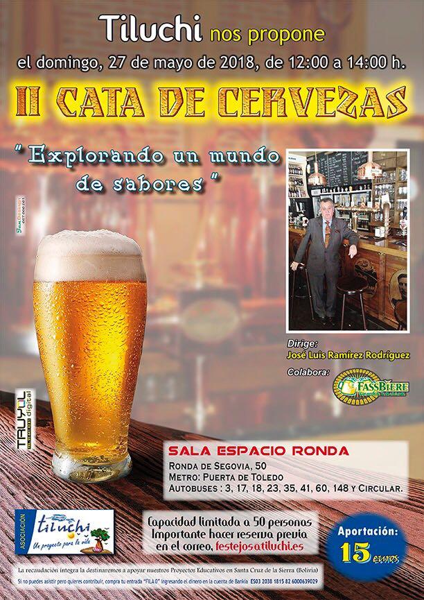 """II Cata de Cerveza """"Explorando un mundo de sabores"""""""