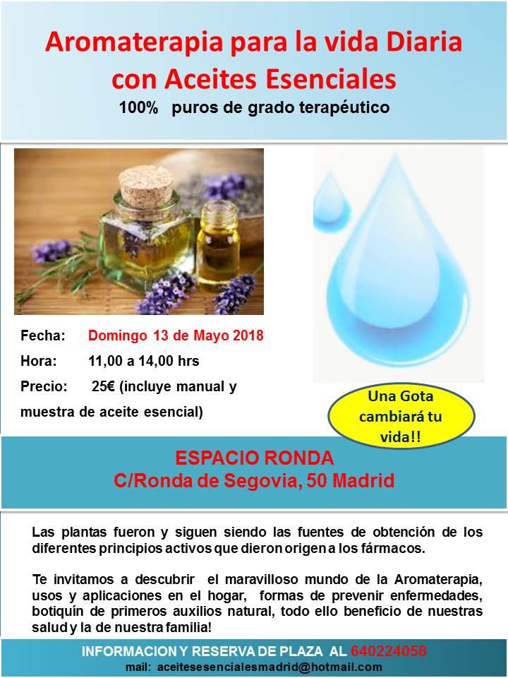 Taller Aromaterapia para la vida diaria