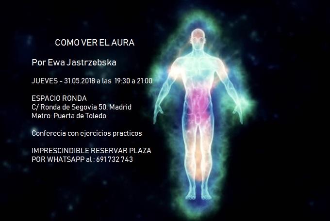 """Conferencia """"Cómo ver el aura"""""""