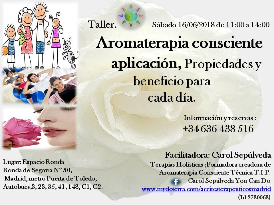 Taller Aromaterapia Consciente