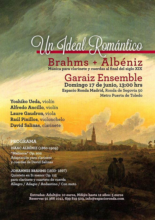 Un ideal Romántico: Brahms + Albéniz