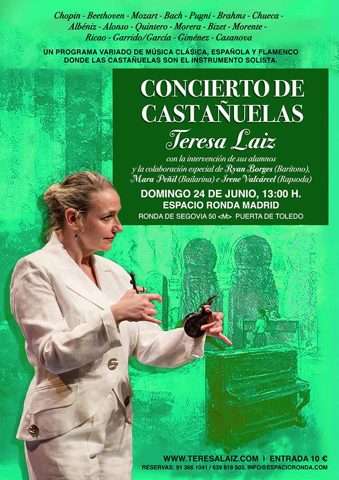 Concierto de Castañuelas con Teresa Laiz