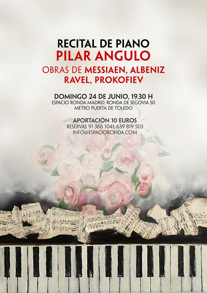 Recital de piano de Pilar Angulo
