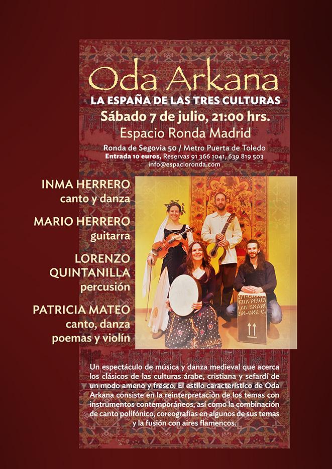 """""""Oda Arkana"""" La España de las Tres Culturas"""