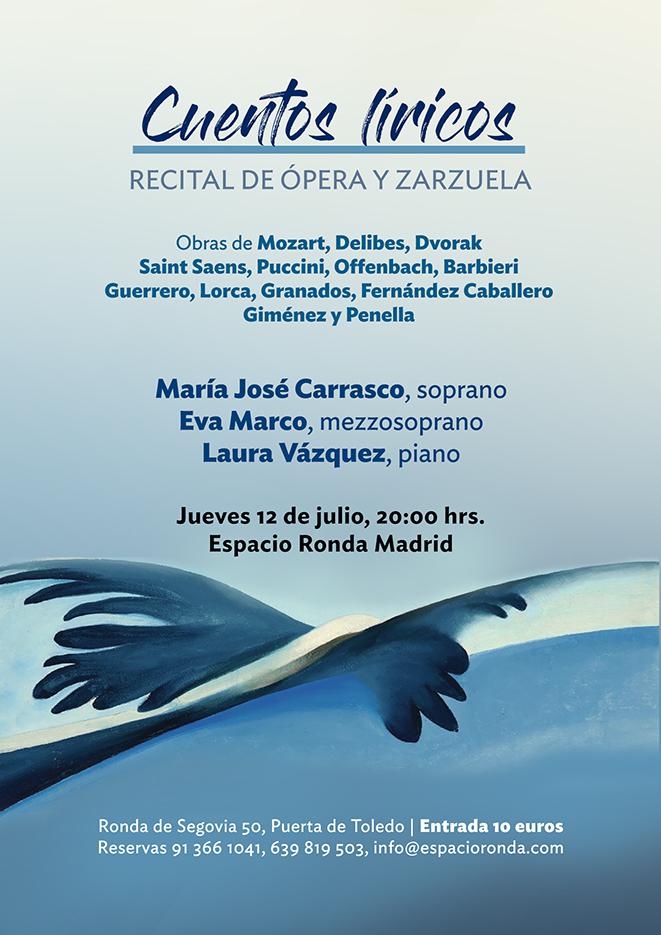 """""""Cuentos líricos"""" Recital de Ópera y Zarzuela"""
