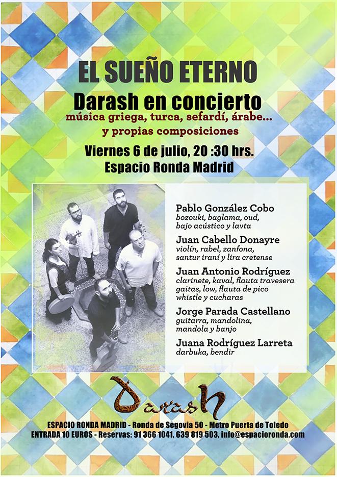 """""""El Sueño Eterno"""", un concierto de Darash"""