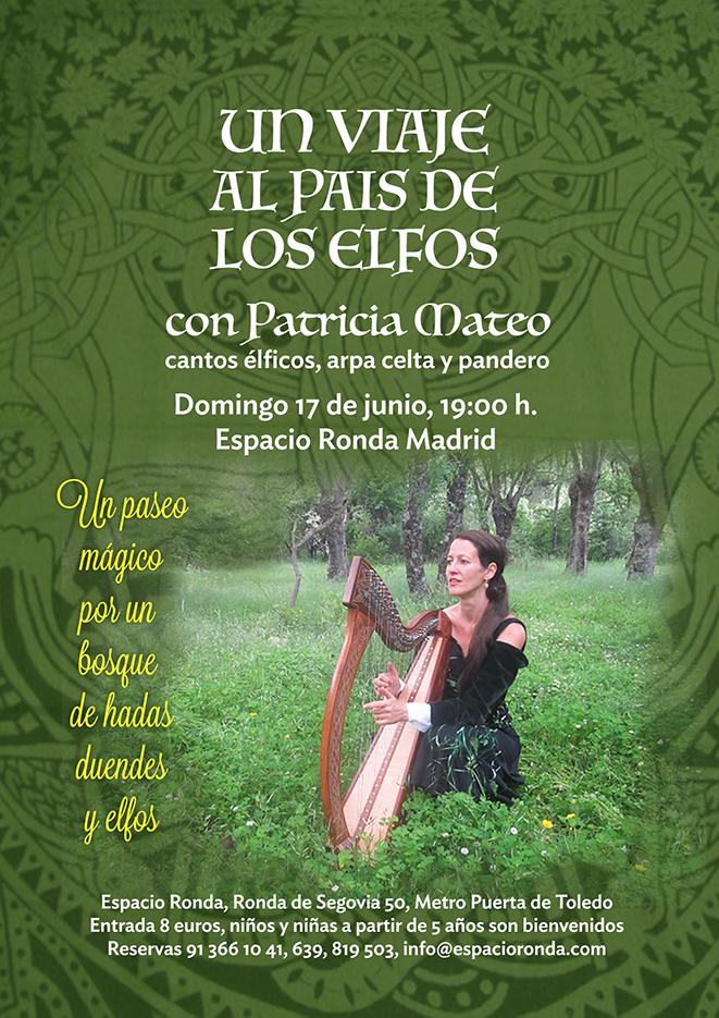 """""""Un viaje al país de los elfos"""" con Patricia Mateo"""