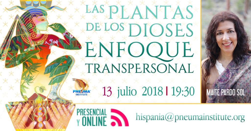 """""""Las Plantas de los Dioses"""" Visión Transpersonal"""