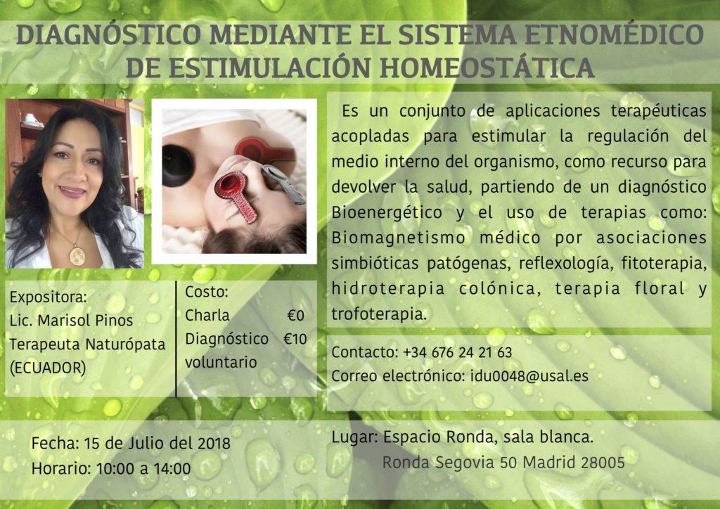Diagnóstico mediante el Sistema Etnomédico de Estimulación Homeostática