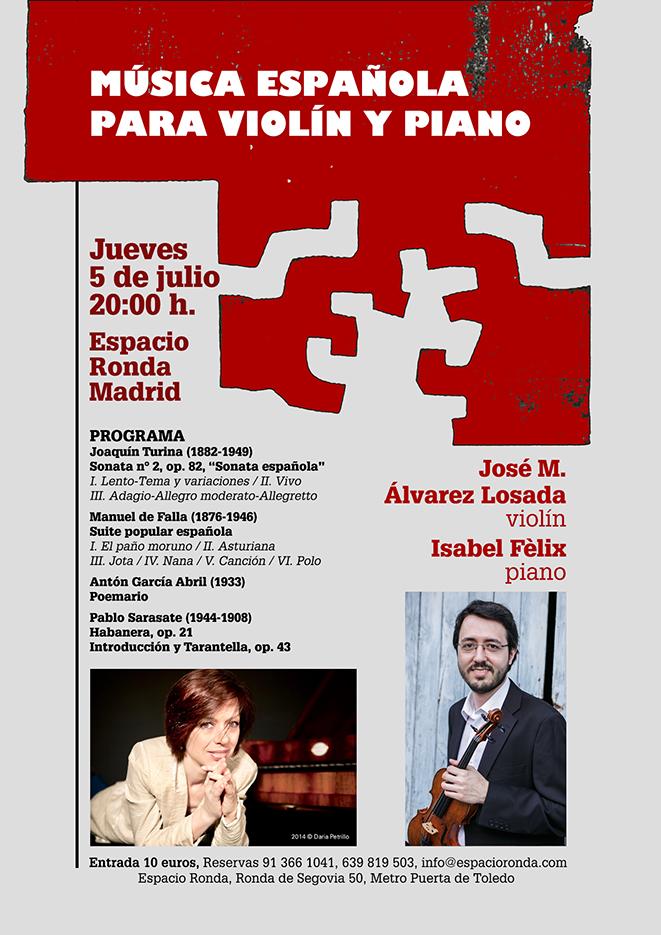 Música Española para Violín y Piano