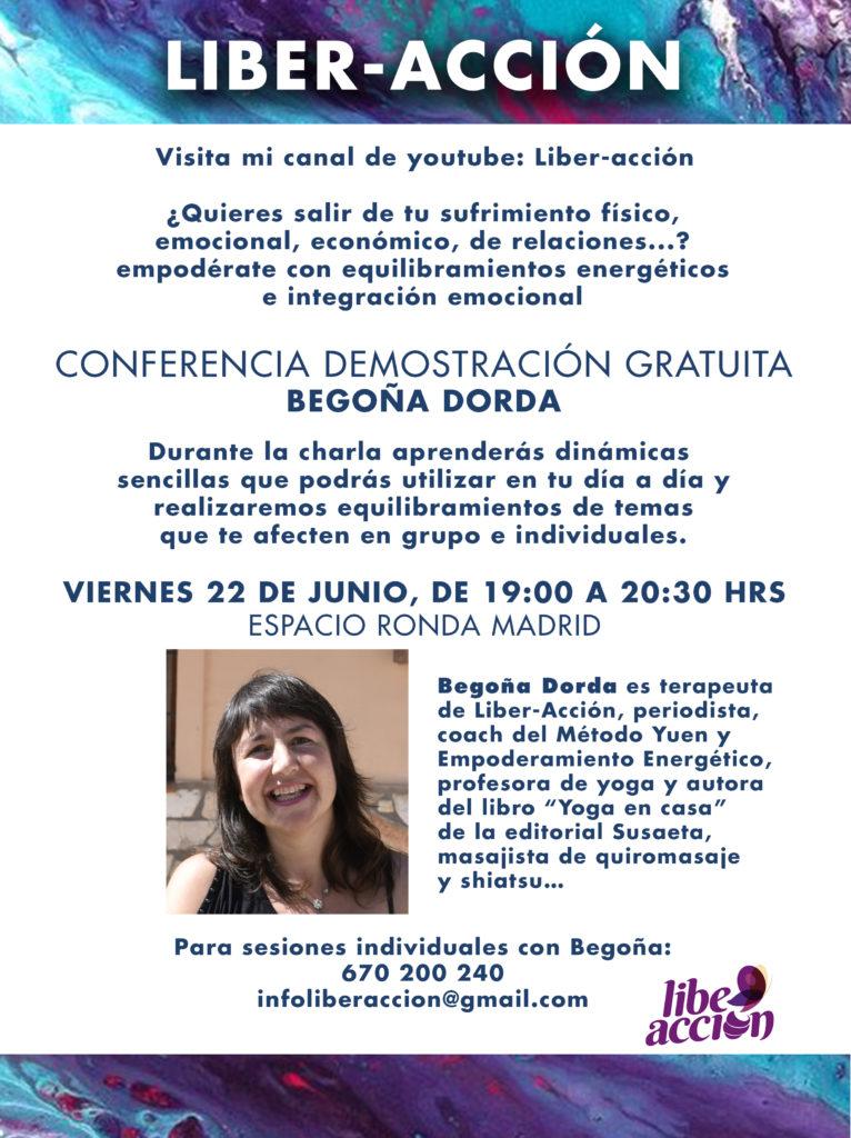 """Conferencia-Demostración Gratuita """"Liber-Acción"""""""