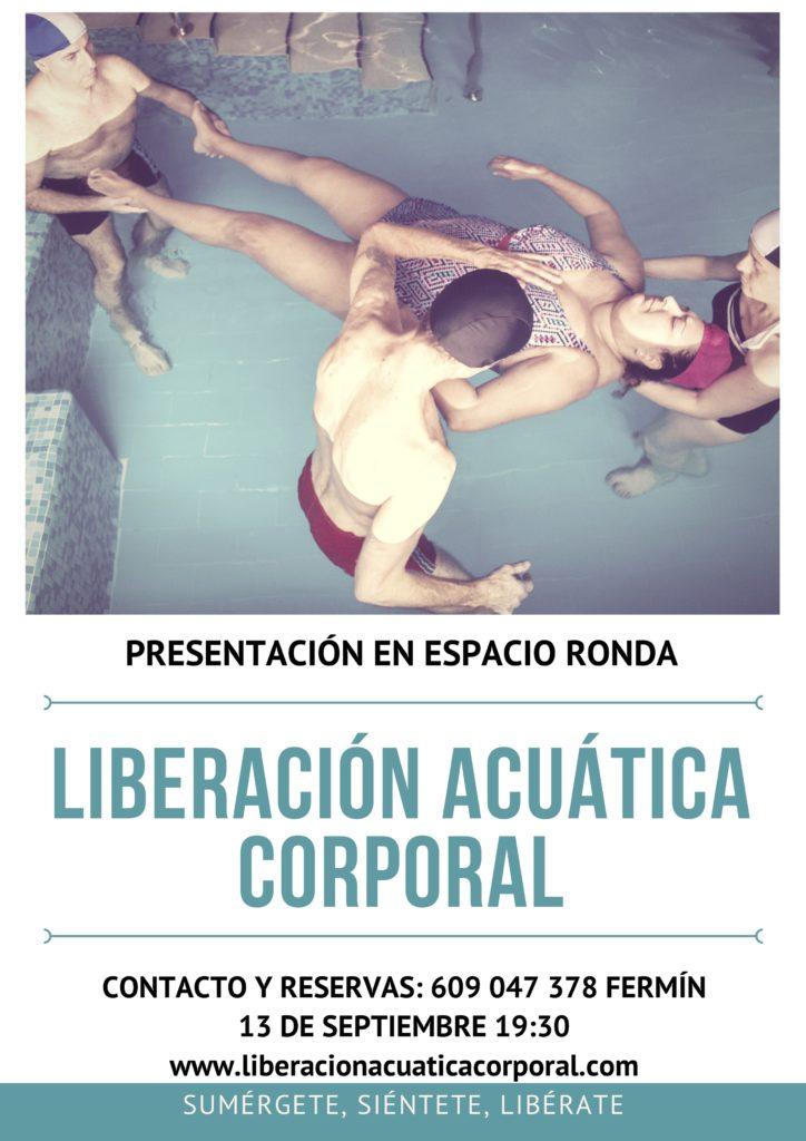 """Presentación de la """"Liberación Acuática Corporal"""" - Descubre su poder transformador"""
