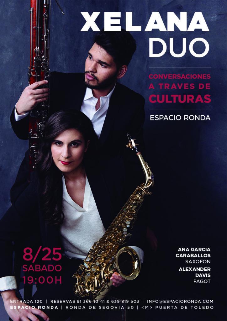 """""""Conversaciones a través de culturas"""" Xelana Duo"""