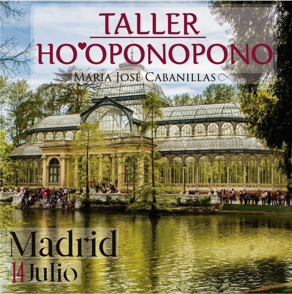 Taller Ho'oponopono Madrid con Maria José Cabanillas
