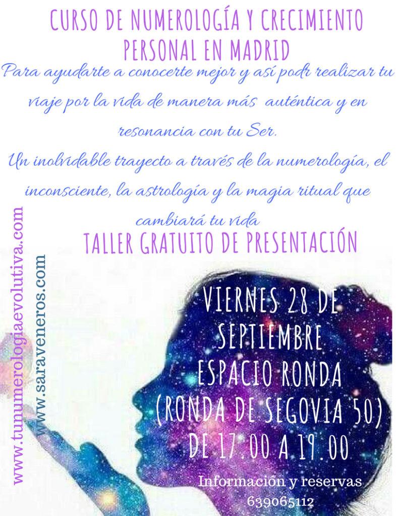 Curso de Numerología y Crecimiento Personal en Madrid