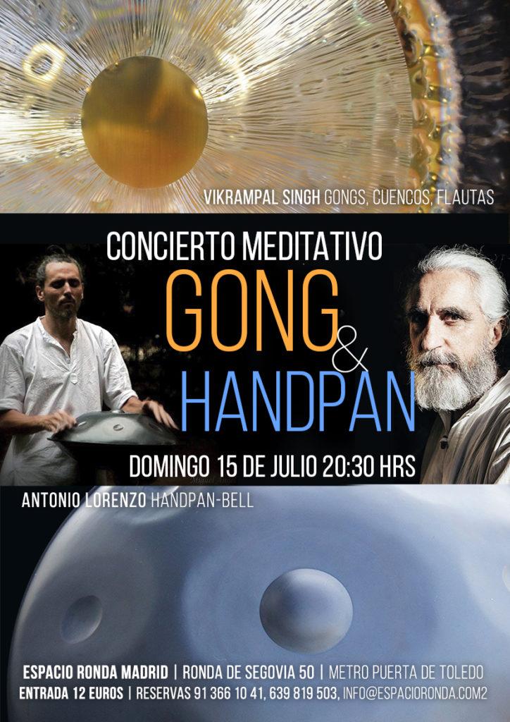 Concierto Meditativo GONG & HANDPAN