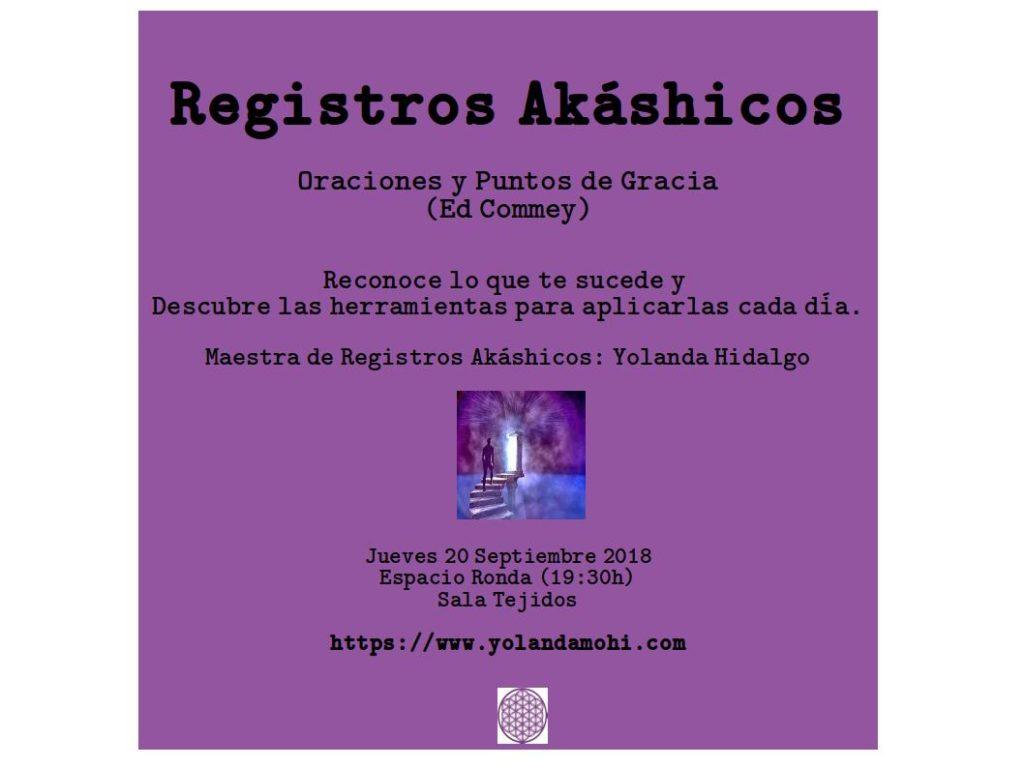 Registros Akáshicos - Oraciones y Puntos de Gracia