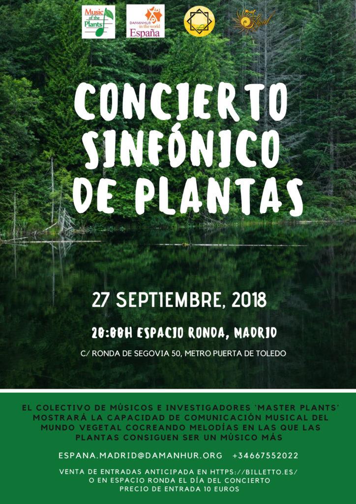 Concierto Sinfónico de Plantas