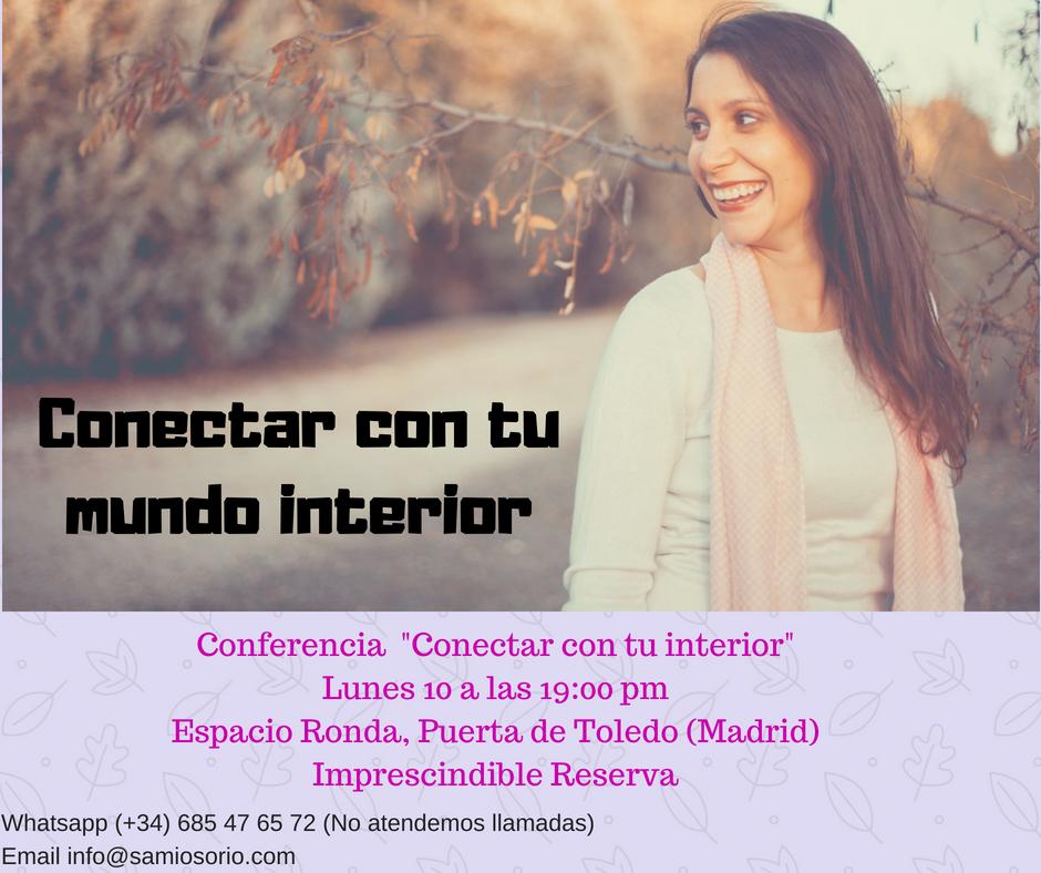 Conectar con tu mundo interior