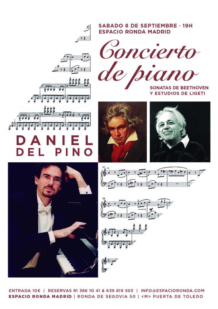"""Concierto de piano """"Sonatas de Beethoven y Estudios de Ligeti"""""""