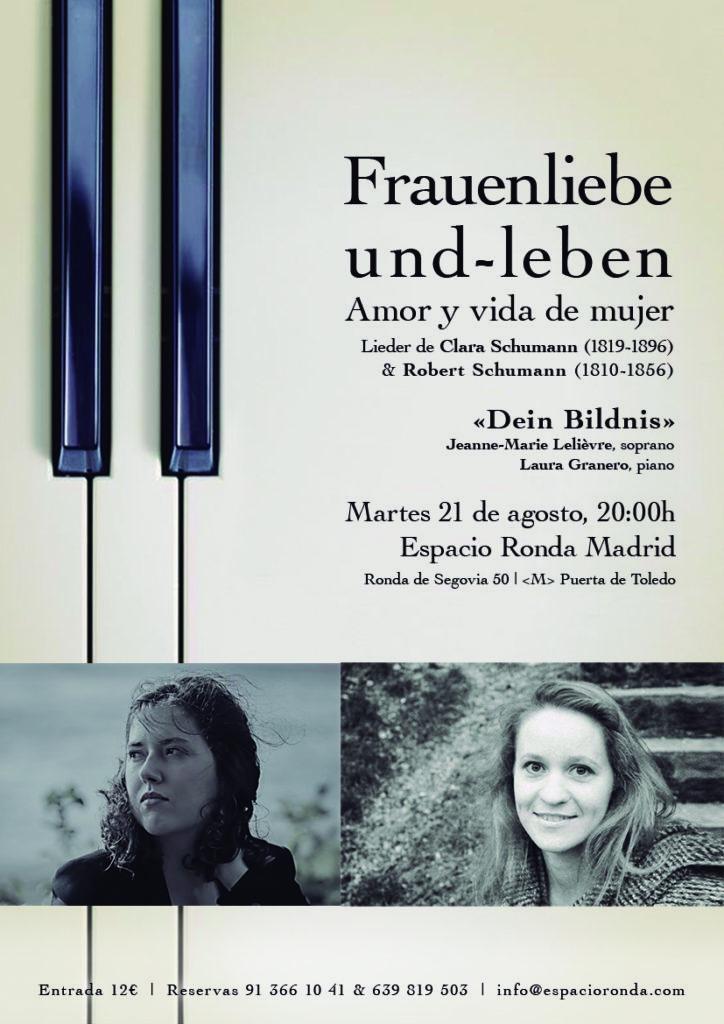 """""""Frauenliebe und -leben"""" (""""Amor y vida de mujer"""")"""